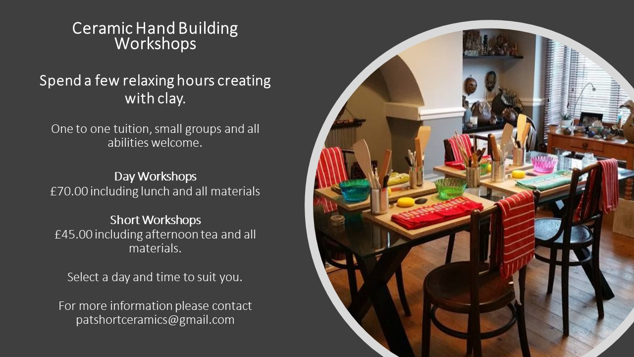 Ceramic workshop classes in Birmingham